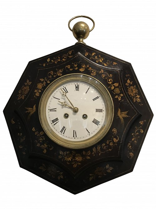 French striking tole clock - Vincente