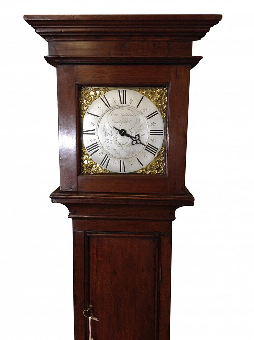 30 hour single hand longcase clock