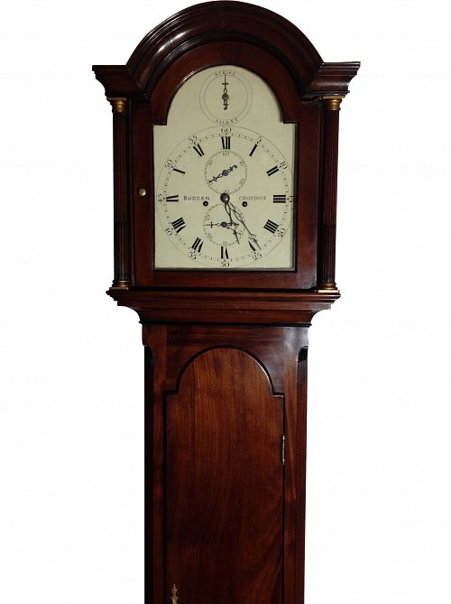 Mahogany 8-day Longcase Clock